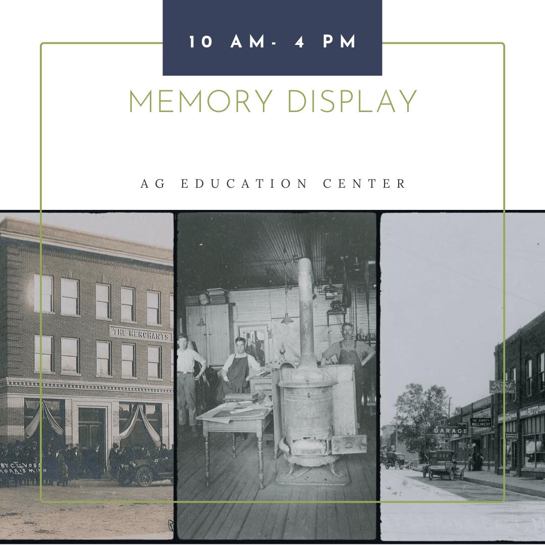 Morris-Prairie Pioneer Day Blog-Memory Display (1)