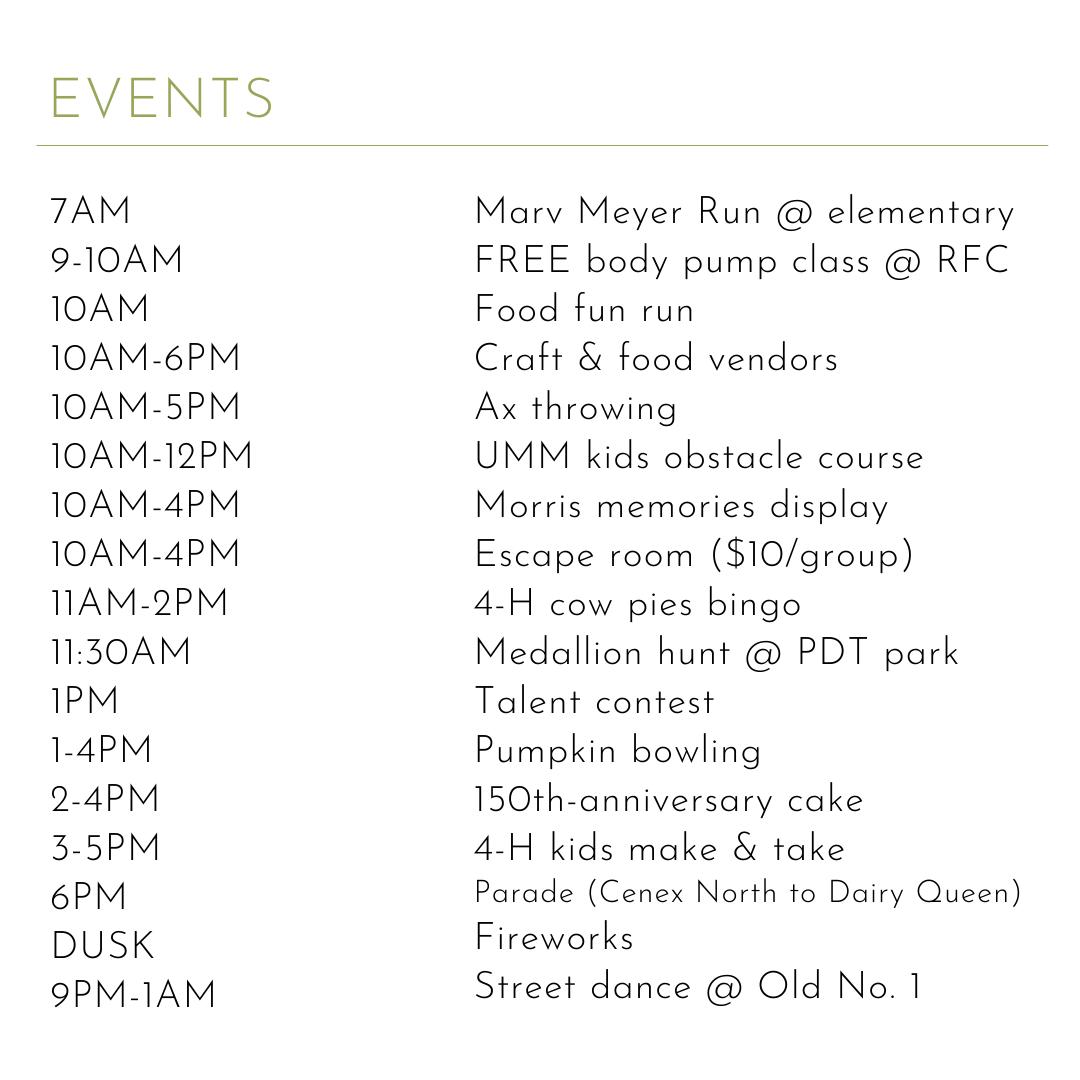 Morris Prairie Pioneer Day-Full Agenda (2)