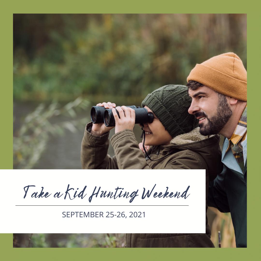 Morris-Take a Kid Hunting Weekend-Website Event